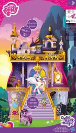 My Little Pony Canterlot Castle Playset back of packaging