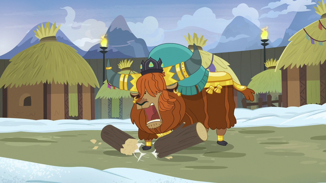 File:Prince Rutherford stomps on a log S7E11.png