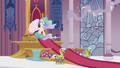 Princess Celestia in her throne room S5E18.png