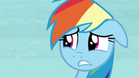 Rainbow's worried face S5E5