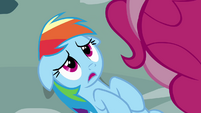Rainbow Dash nervous S4E12