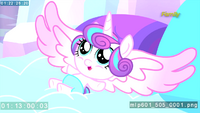 Alicorn Baby Flurry Heart revealed S6E1.png