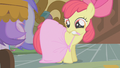 Apple Bloom's improvised dress S1E12.png