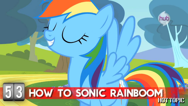 "File:Hot Minute with Rainbow Dash ""you gotta be me"".png"