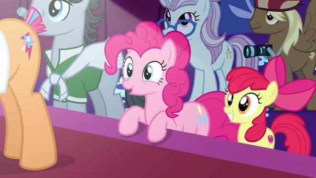 "File:Pinkie Pie ""Applejack is the deciding vote!"" S7E9.png"