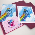Rainbow Dash comicfolio contents