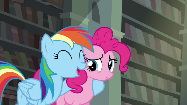 File:Rainbow with hoof around Pinkie S4E25.png