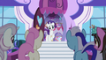 Rarity welcomes ponies to going-out-of-business sale S5E14.png