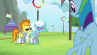 Spitfire and Fleetfoot walking up S4E10