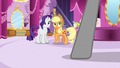 Applejack and Rarity hear Photo Finish arrive S7E9.png