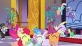 Cutie Mark Crusaders enter the Gala S5E7.png
