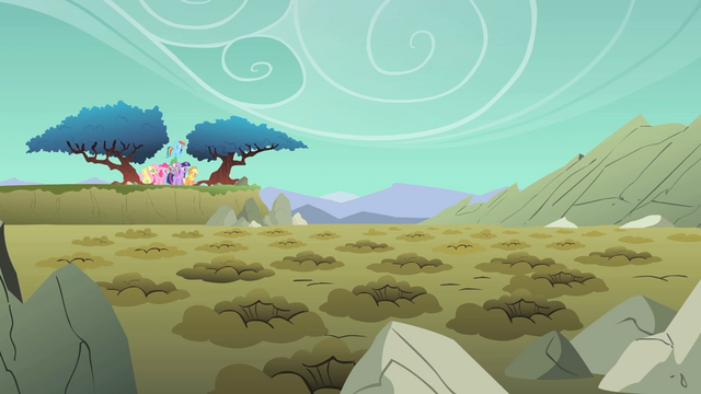 File:Main ponies a lotta holeys S01E19.png