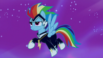 Rainbow Dash turns into Zapp S5E13