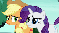 "Rarity Changeling ""what happened?"" S6E25"