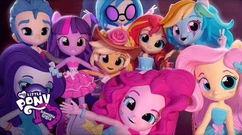 MLP Equestria Girls Minis - 'Dance Off' Original Short