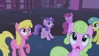 Ponies afraid of the ursa minor S1E06