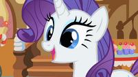 Rarity realizes Rainbow Dash helped her earn her cutie mark S1E23