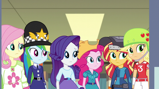 File:The Equestria Girls looking puzzled EG3.png
