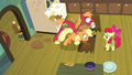 AJ and Big Mac dig hole under floorboards S7E13.png