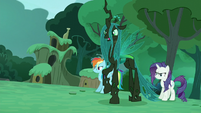 Queen Chrysalis' true form S5E26