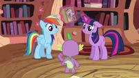 Twilight Sparkle and Rainbow Dash not impressed S2E16
