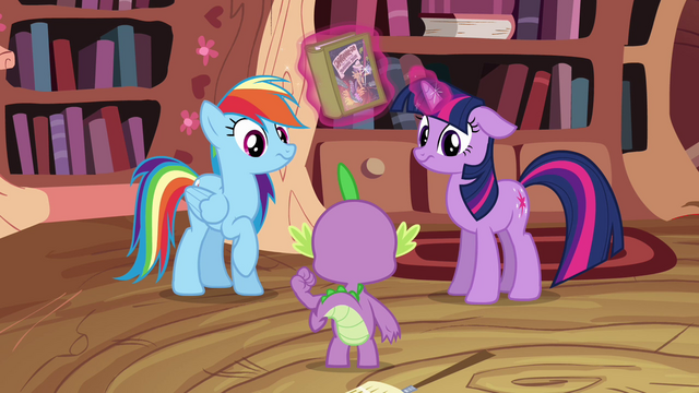 File:Twilight Sparkle and Rainbow Dash not impressed S2E16.png