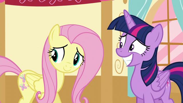 File:Twilight and Fluttershy hear Applejack S5E11.png