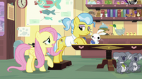 "Fluttershy ""you really have your hooves full"" S7E5"