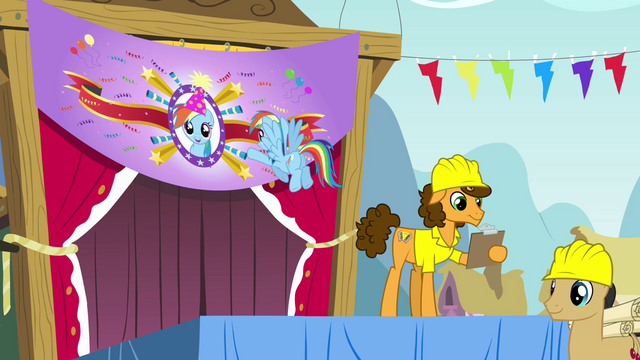File:Rainbow looking at banner S4E12.png