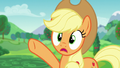 """Applejack """"if she doesn't get those things by tomorrow"""" S5E24.png"""