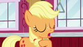 Applejack takes credit for Filthy Rich's idea S6E23.png