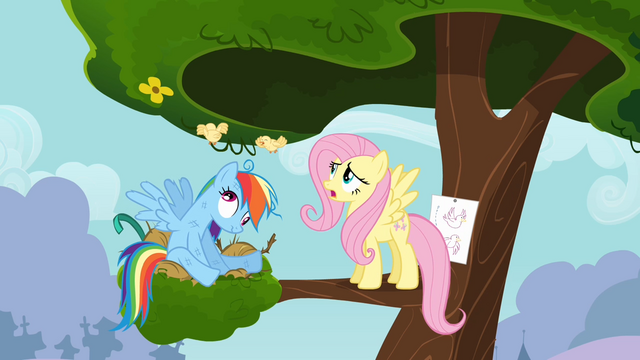 File:Chicks flying in circles on Rainbow Dash's head S4E04.png