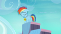 Filly Rainbow Dash feeling alone S7E7.png