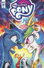 Friends Forever issue 38 sub cover