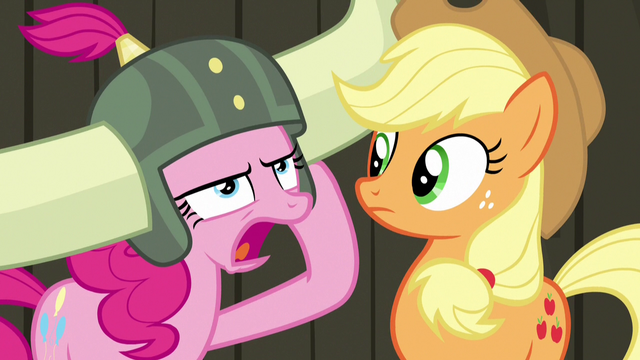 "File:Pinkie ""pink pony no need apple pony's help!"" S7E11.png"
