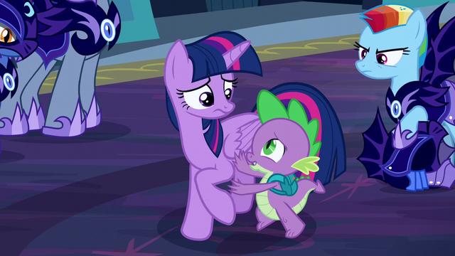 """File:Spike """"Twilight, no!"""" S5E26.png"""