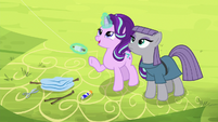 "Starlight ""not to make the spars too heavy"" S7E4"