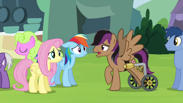 """File:Stellar Eclipse """"time to eat an oat burger"""" S4E22.png"""