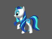 FANMADE 3D OC pony by Okaminarutofan999 2