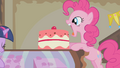 Pinkie Pie about to eat another cake S1E10.png