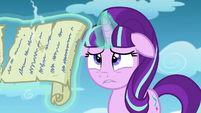 Starlight taking Twilight's words all in S5E26
