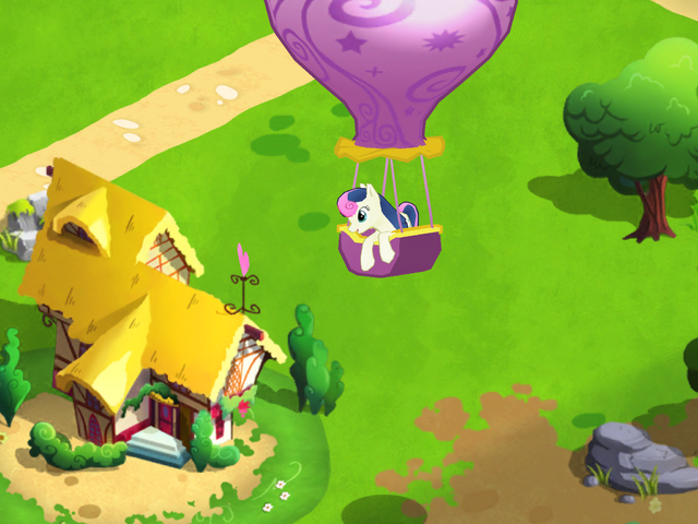File:Bon Bon arriving MLP Game.png