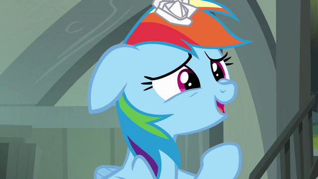 File:Rainbow Dash 'but of course' S4E04.png