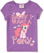 My little pony George glitter shirt