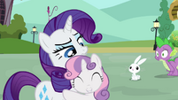 "Rarity and Sweetie Belle ""lucky guess?"" S03E11"