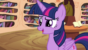 "Twilight ""No, silly!"" S4E15"