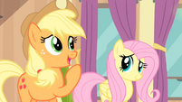 Applejack 'Buck up!' S4E08