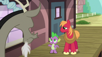 Spike invites Discord to hang out S6E17