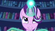 Starlight Glimmer casts her hypnosis spell S6E21