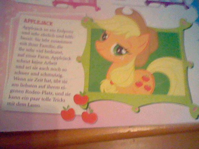 File:Applejack in a German magazine.jpg